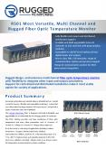 R501 multi channel Rugged Fiber Optic Temperature Monitor  RM PowerPoint PPT Presentation