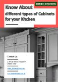 Know About Different Types of Cabinets for Your Kitchen PowerPoint PPT Presentation