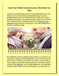 Dua to Get Wife Back (2) PowerPoint PPT Presentation