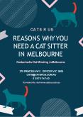 10 Reasons Why You Need a Cat Sitter in Melbourne PowerPoint PPT Presentation