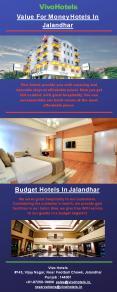 Budget Hotels In Jalandhar PowerPoint PPT Presentation