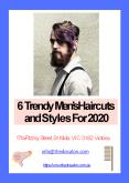 6 Trendy Men's Haircuts and Styles For 2020 PowerPoint PPT Presentation