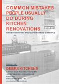 Common Mistakes People Usually Do During Kitchen Renovations PowerPoint PPT Presentation