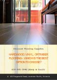 Hardwood, vinyl, or timber flooring - which is the best option to choose?