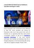 Vashikaran specialist astrologer | World famous Vashikaran Specialist Astrologer PowerPoint PPT Presentation