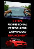 5 Steps Professional Perform For Car Window Replacement PowerPoint PPT Presentation