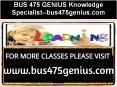 BUS 475 GENIUS Knowledge Specialist--bus475genius.com PowerPoint PPT Presentation