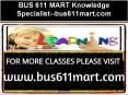 BUS 611 MART Knowledge Specialist--bus611mart.com PowerPoint PPT Presentation