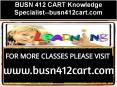BUSN 412 CART Knowledge Specialist--busn412cart.com PowerPoint PPT Presentation