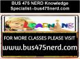 BUS 475 NERD Knowledge Specialist--bus475nerd.com PowerPoint PPT Presentation