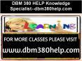 DBM 380 HELP Knowledge Specialist--dbm380help.com PowerPoint PPT Presentation