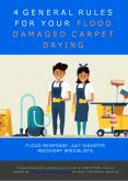 4 General Rules for Your Flood Damaged Carpet Drying PowerPoint PPT Presentation