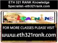 ETH 321 RANK Knowledge Specialist--eth321rank.com PowerPoint PPT Presentation