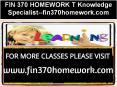 FIN 370 HOMEWORK T Knowledge Specialist--fin370homework.com PowerPoint PPT Presentation