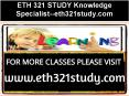 ETH 321 STUDY Knowledge Specialist--eth321study.com PowerPoint PPT Presentation