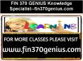 FIN 370 GENIUS Knowledge Specialist--fin370genius.com PowerPoint PPT Presentation