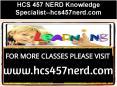 HCS 457 NERD Knowledge Specialist--hcs457nerd.com PowerPoint PPT Presentation