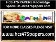 HCS 475 PAPERS Knowledge Specialist--hcs475papers.com PowerPoint PPT Presentation