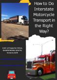 How to Do Interstate Motorcycle Transport in the Right Way PowerPoint PPT Presentation