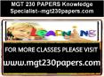 MGT 230 PAPERS Knowledge Specialist--mgt230papers.com PowerPoint PPT Presentation