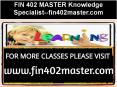 FIN 402 MASTER Knowledge Specialist--fin402master.com PowerPoint PPT Presentation
