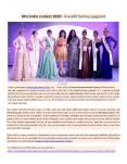 Mrs India contest 2020 - A world famous pageant (1) PowerPoint PPT Presentation