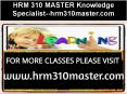 HRM 310 MASTER Knowledge Specialist--hrm310master.com PowerPoint PPT Presentation