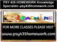 PSY 435 HOMEWORK Knowledge Specialist--psy435homework.com PowerPoint PPT Presentation