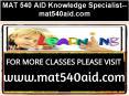 MAT 540 AID Knowledge Specialist--mat540aid.com PowerPoint PPT Presentation