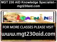 MGT 230 AID Knowledge Specialist--mgt230aid.com PowerPoint PPT Presentation