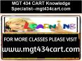 MGT 434 CART Knowledge Specialist--mgt434cart.com PowerPoint PPT Presentation