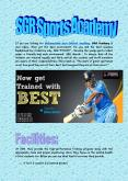 SGR Sports Academy In India PowerPoint PPT Presentation