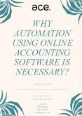 Why Automation Using Online Accounting Software is Necessary? PowerPoint PPT Presentation