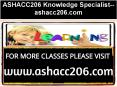 ASHACC206 Knowledge Specialist--ashacc206.com PowerPoint PPT Presentation