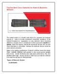 Top five Best Cisco Switches for Home & Business Network PowerPoint PPT Presentation