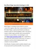 Black magic specialist in USA And U.K PowerPoint PPT Presentation