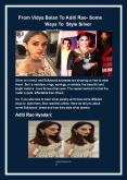 From Vidya Balan To Aditi Rao- Some Ways To Style Silver Jewelry PowerPoint PPT Presentation