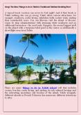 Tahitiparadiseactivities Omg! The Best Things to do in Tahiti & Traditional Tahitian Wedding Ever! PowerPoint PPT Presentation