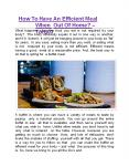 How To Have An Efficient Meal When Out Of Home? - TORQ03 PowerPoint PPT Presentation