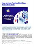 How to Open Pradhan Mantri Jan Aushadhi Kendra PowerPoint PPT Presentation