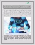 The Benefits of Top Manufacturing ERP Software in India PowerPoint PPT Presentation