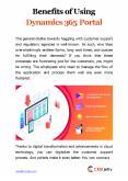 Benefits of Using Dynamics 365 Portal PowerPoint PPT Presentation