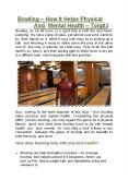 Bowling – How It Helps Physical And Mental Health - TORQ03 PowerPoint PPT Presentation