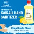 Introducing Kairali Hand Sanitizer - Always recommended for clean hands