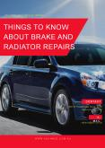 Things to Know About Brake and Radiator Repairs PowerPoint PPT Presentation