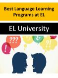 Best Language Learning Programs at EL PowerPoint PPT Presentation