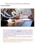 Online Scrum Product Owner training - Platinum Edge (1) PowerPoint PPT Presentation