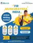 Fir Muskurayega India - Article Writing Contest PowerPoint PPT Presentation