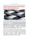 Electrical Galvanized Steel Market Analysis to 2025 with Detailed Business Opportunities and Size PowerPoint PPT Presentation