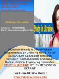 Study In Ukraine Official | QUICK Admission In Ukraine 1DAY - StudyinUkraine.site PowerPoint PPT Presentation